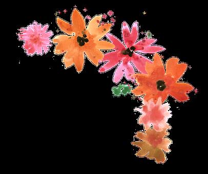 Flower, Bouquet, Watercolor, Watercolor Painting, Sheet