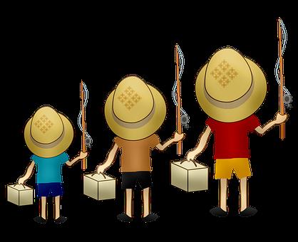 Boys, Fishing, Fishermen, Hats, Fishing Rods, Kids