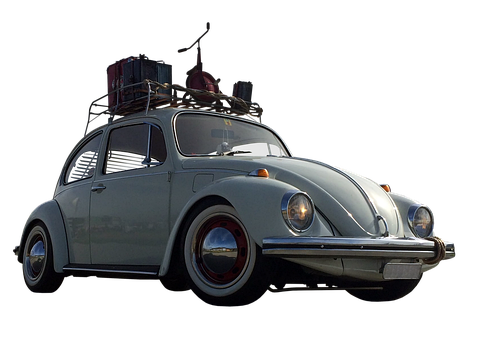 Beetle, Vw, Car, Vehicle, Auto, Old, Vintage