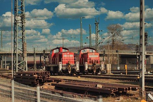Train, Loco, Transport, Railway, Old, Rails