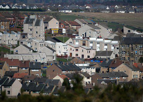 Fife, Scotland, Inverkeithing, Town, Social Housing