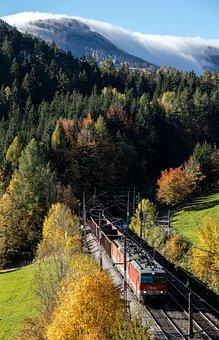 Train, Semmering, Rails, Railway, Travel, Traffic