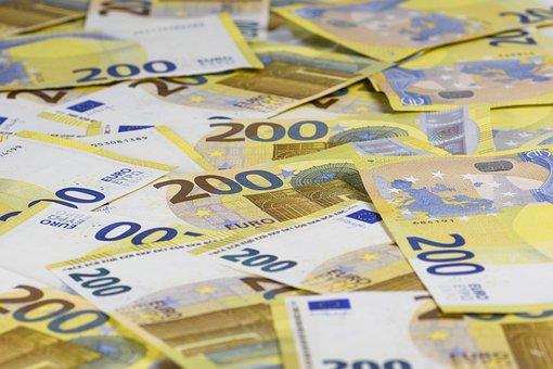 Money, Bills, Economy, Euro, Paper Money, Wealthy