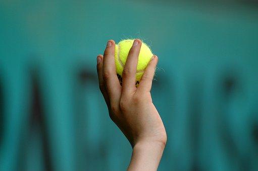 Hand, Tennis Ball, Child, Ball, Tennis, Kid, Closeup