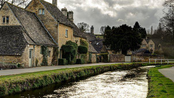 Cotswolds, England, Cloudy