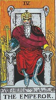 The Emperor, Tarot, Major Arcana