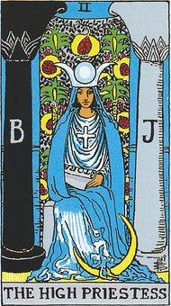 The High Priestess, Tarot, Major Arcana