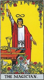 The Magician, Tarot, Major Arcana