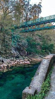 River, Bridge, Landscape, Architecture, Afternoon