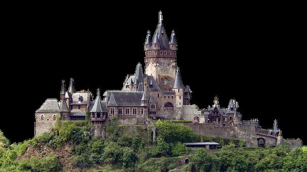 Cochem Castle, Castle, Architecture, Towers