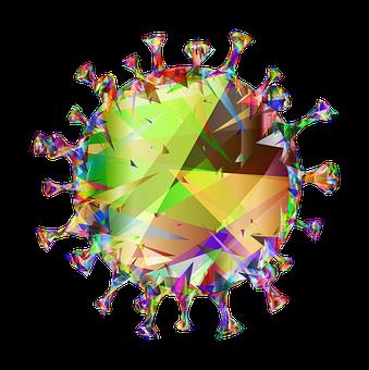 Coronavirus, Virus, Low Poly, Covid-19, Corona, Covid