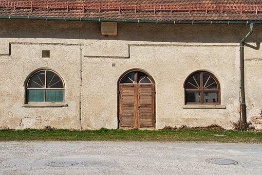 Building, Facade, Architecture, Door, Windows