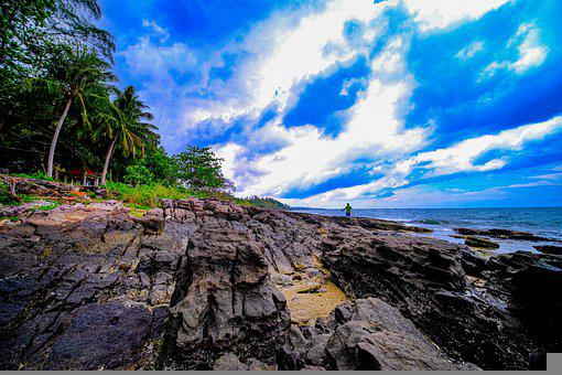 Clouds, Sky, Nature, Fantasy, Weather, Beach, Cloudy