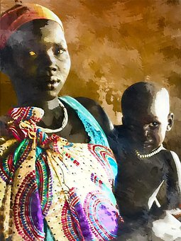 Africa, Mozambico, Illustrazione