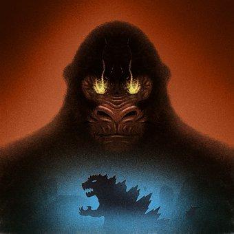 King Kong, Godzilla, Monsters, Characters, Orangutan