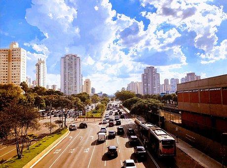 City, Brazil, Metropolis, Buildings, São Paulo