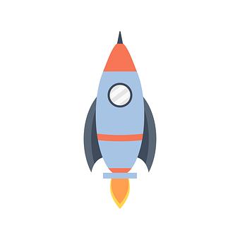 Rocket, Space, Explore, Spaceship, Cartoon, Nasa, Start