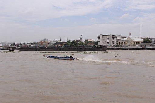 River, Thailand, Bangkok, Asia