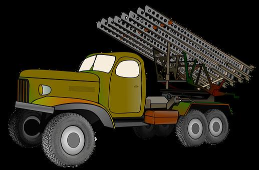 Katyusha Rocket Launcher, Truck, Vehicle, Katyusha
