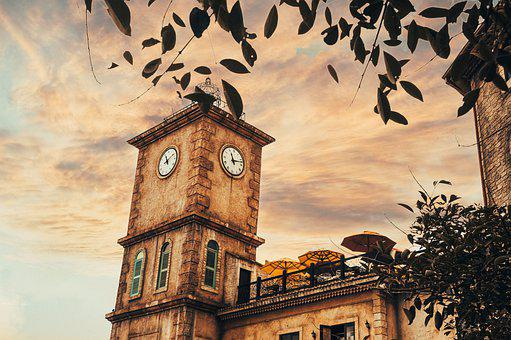 Tower, Clock, Ba Na Hills, Building, Old Building