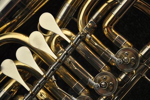 Instrument, Sheet, Valves, Brass Instrument, Euphonium