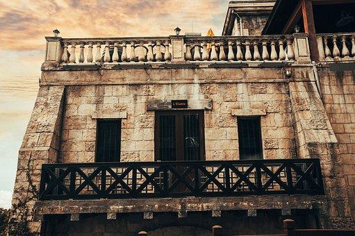 Balcony, Building, Ba Na Hills, Old Building
