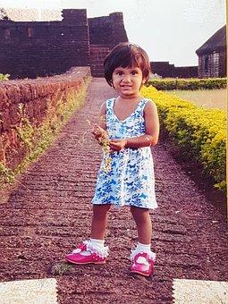 Pink Shoe, Smile, Child
