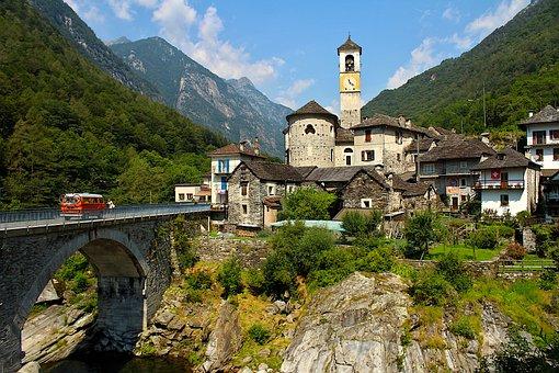 Ticino, Swiss, Lavertezzo, Switzerland, Nature