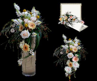 Flowers, Bouquet, Card, Flower Arrangements, Vase