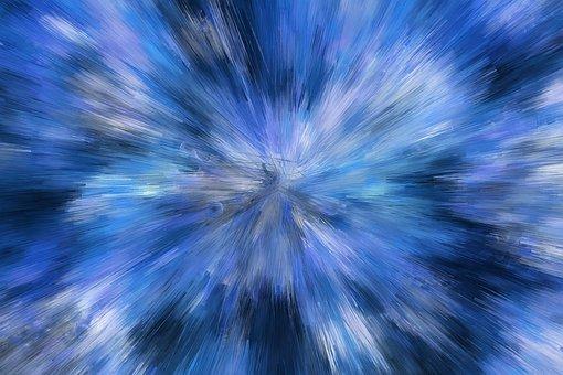 Big Bang, Background, Abstract, Explosion, Radial