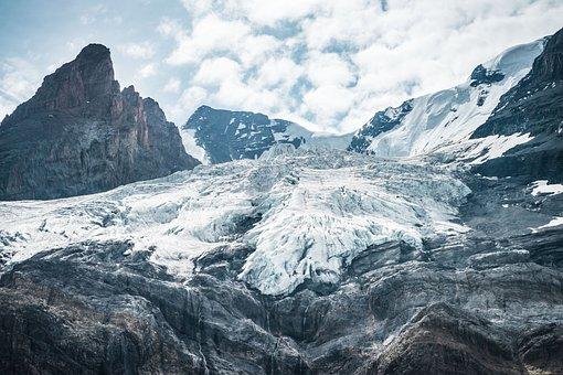 Glacier, Mountain, Ice, Snow, Switzerland, Landscape