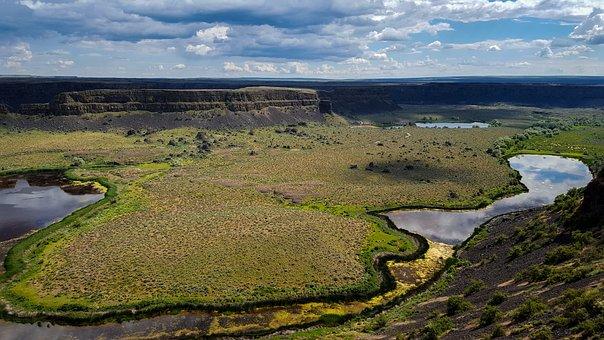 River, Rocks, Stream, Boulder, Cliff, Nature, Water
