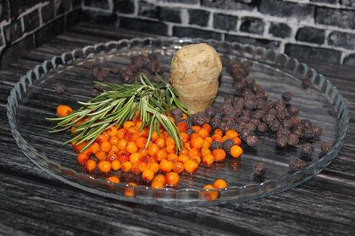 Berries, Ginger, Health, Vitamins, Sea-buckthorn