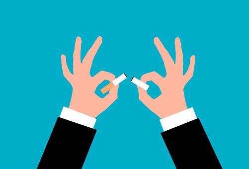 Cigarette, Breaking, Quit, Quitting, Smoking, Stop
