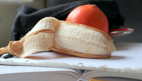 Banana, Mandarin, Fruit, Healthy, Vitamins, Fruits