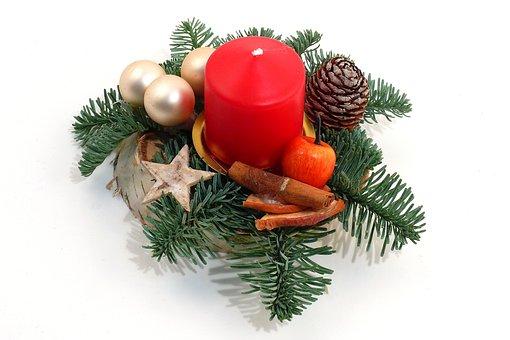 Advent, Fir, Candle, Before Christmas, Deco, Christmas