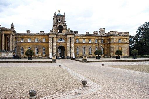 Blenheim Palace, Castle, World Heritage, Woodstock