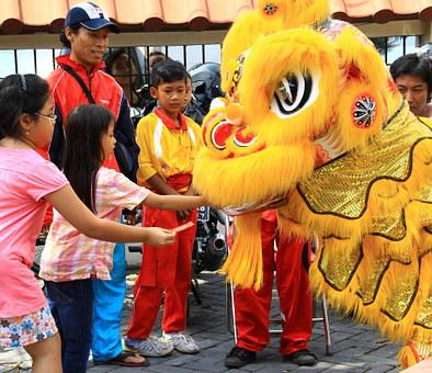 Chinese, New Year, Celebration, Dragon, Traditional