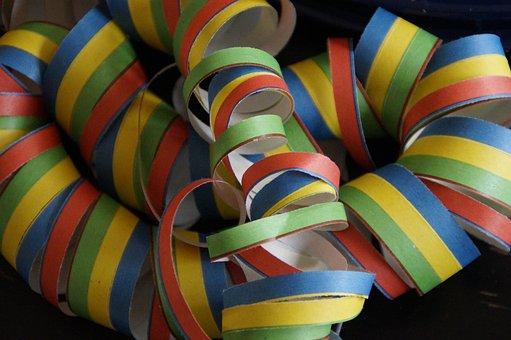 Streamer, Colorful, Carnival, Decoration, Color