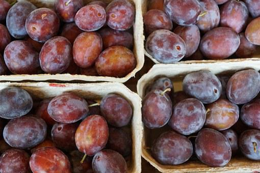 Plums, Healthy, Delicious, Fruit, Eat, Food