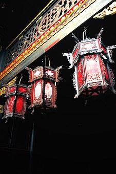 Festival, Festive, China Red, Lantern, Chinese New Year