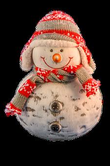 Transparent, Transparent Background, Snowman, Figure