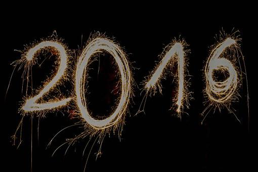 New Year's Eve 2016, New Year's Day, Happy New Year