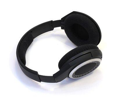Headsets, Senheiser, Music, White Background
