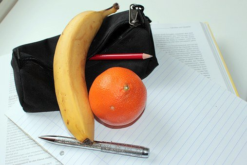 Mandarin, Banana, Fruit, Healthy, Vitamins, Fruits