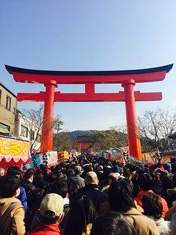 New Year's Day, Fushimi Inari, Japan