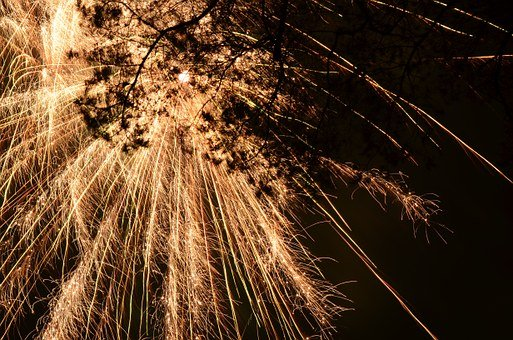 New Year's Eve, New Year's Day, Fireworks