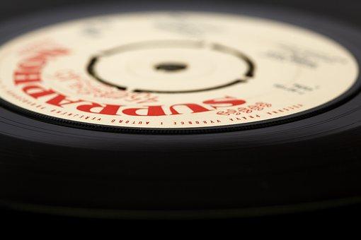 Records, Audio, Background, Black, Circle, Disc, Disco
