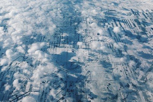 Landscape, Aerial, View, Sky, Nature, Scenic, Flight
