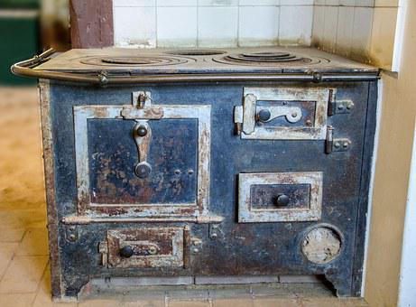 Old Furnace, Fiery Furnace, Historical Oven, Stoves